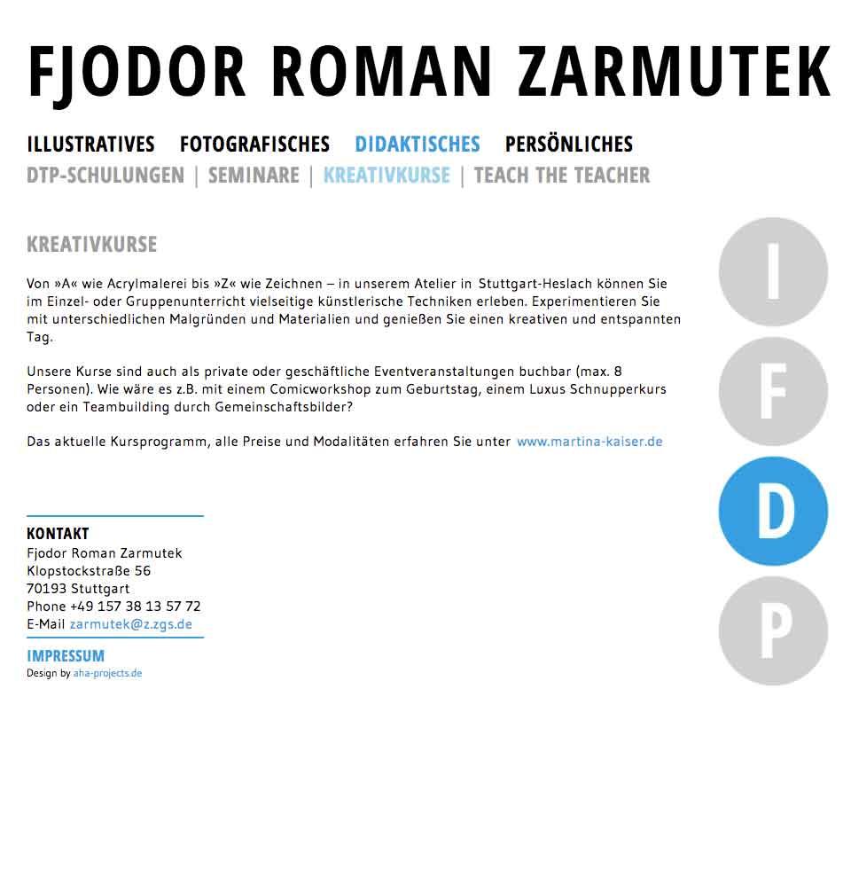 Didaktik | Fjodor Roman Zarmutek