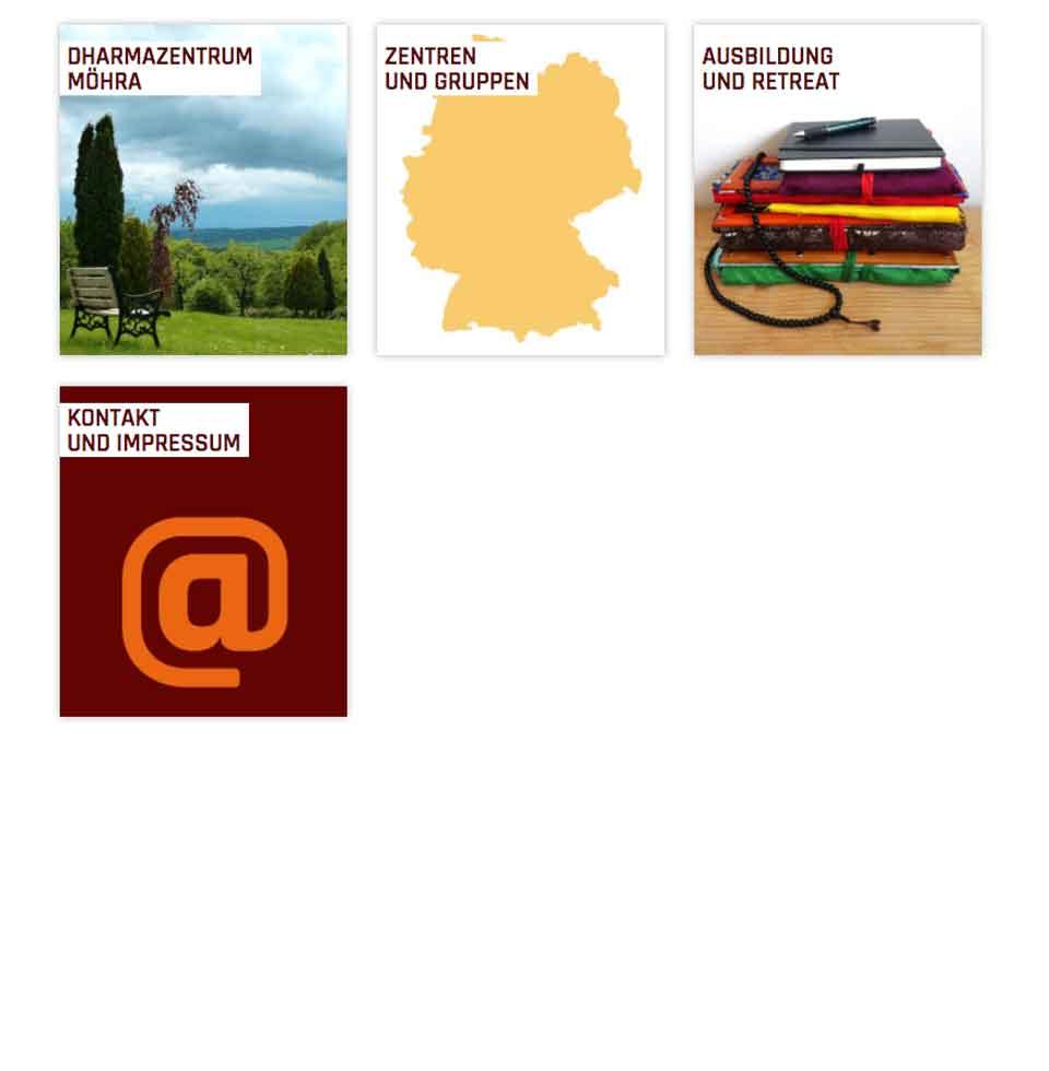 Dhagpo Kagyu Mandala | aha-projects-webdesign
