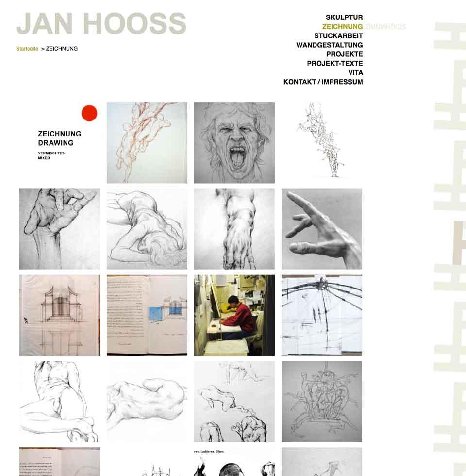 Zeichnungen von Jan Hooss