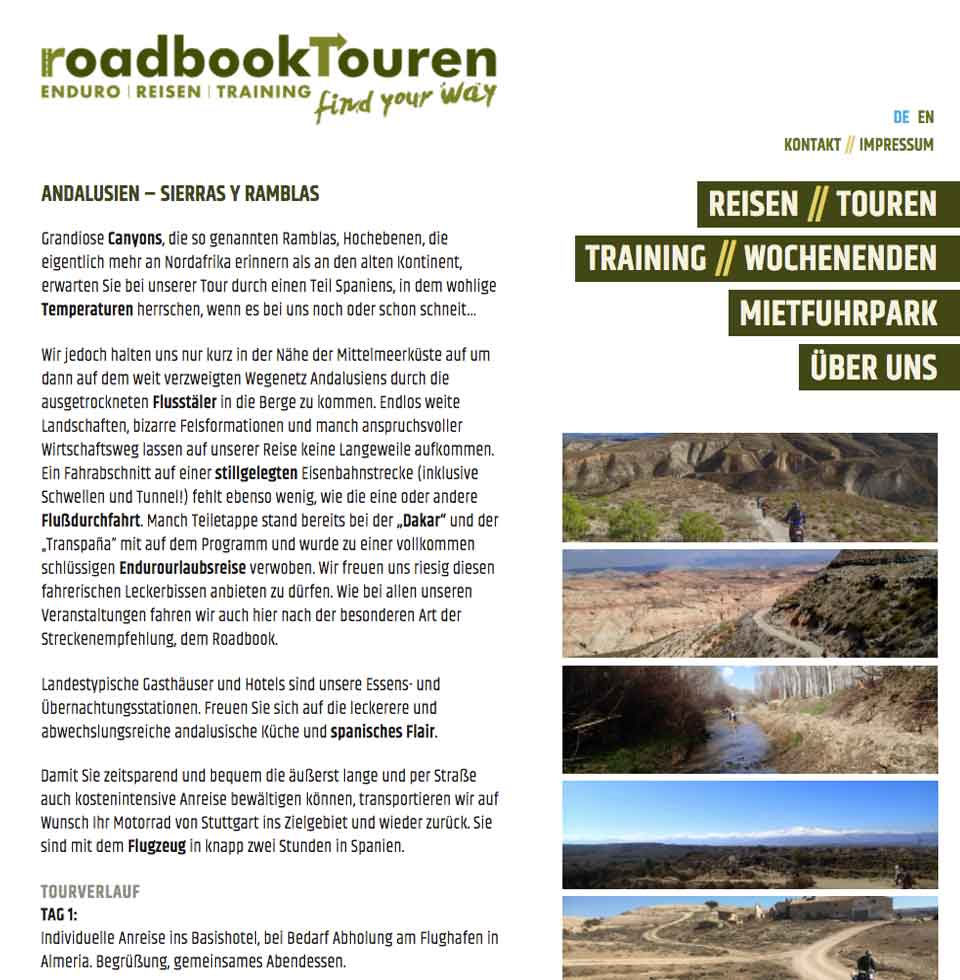 Andalusien-Tour | aha-projects-webdesign