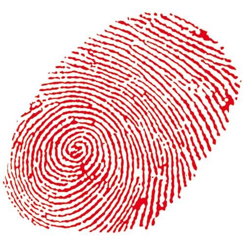 Fingerabdruck | Webdesign von Anne Hooss und Hans Siersleben